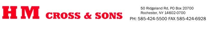 H.M. Cross & Sons